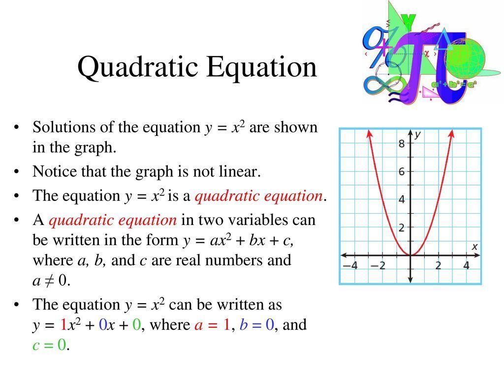 General Properties of Quadratic Equations