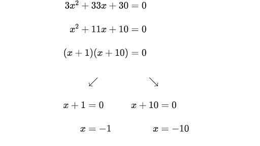 How to Factor a Quadratic Equation